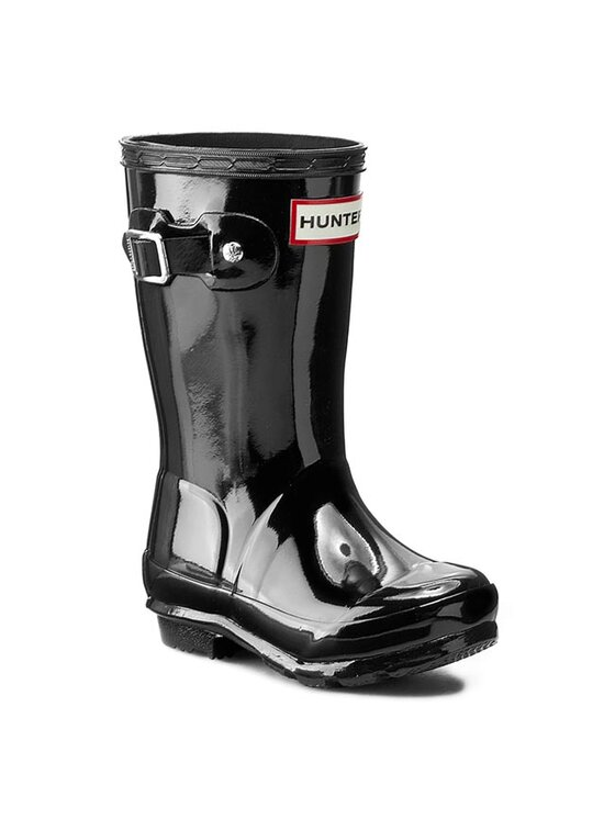 Hunter Guminiai batai Orginal Kids Gloss JFT6000RGL Juoda