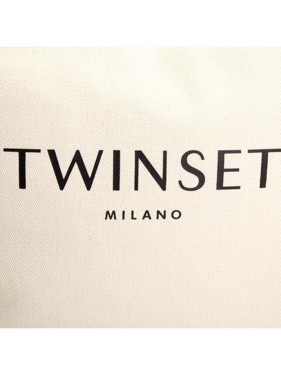 TWINSET TWINSET Дамска чанта Shopping 191TO8202 Бежов
