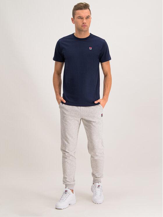 Fila Fila T-Shirt Seamus 682393 Σκούρο μπλε Regular Fit