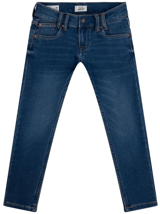 Pepe Jeans Pepe Jeans Jean Sneaker PB200291 Bleu marine Slim Fit