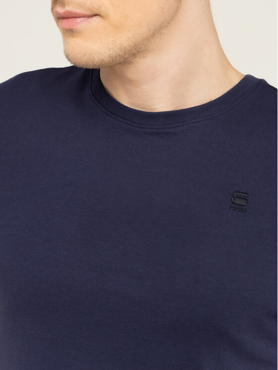 G-Star RAW G-Star RAW T-Shirt Base-S D16411-336-6484 Σκούρο μπλε Regular Fit