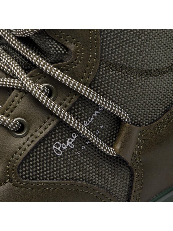 Pepe Jeans Pepe Jeans Sneakersy Wade Combat PMS30491 Zielony