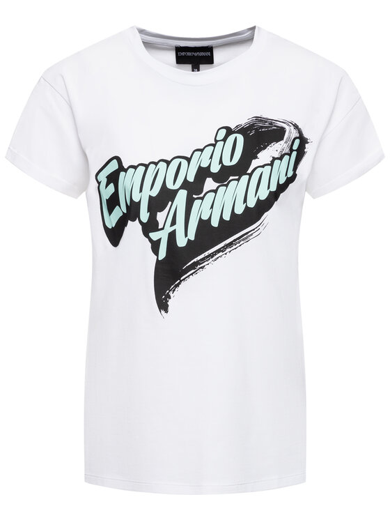 Emporio Armani Emporio Armani T-Shirt 6G2T6A 2JQAZ 0100 Weiß Regular Fit