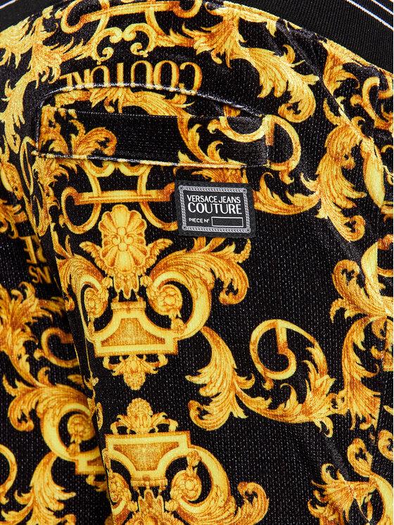 Versace Jeans Couture Versace Jeans Couture Spodnie dresowe A2GWA1F1 Czarny Regular Fit