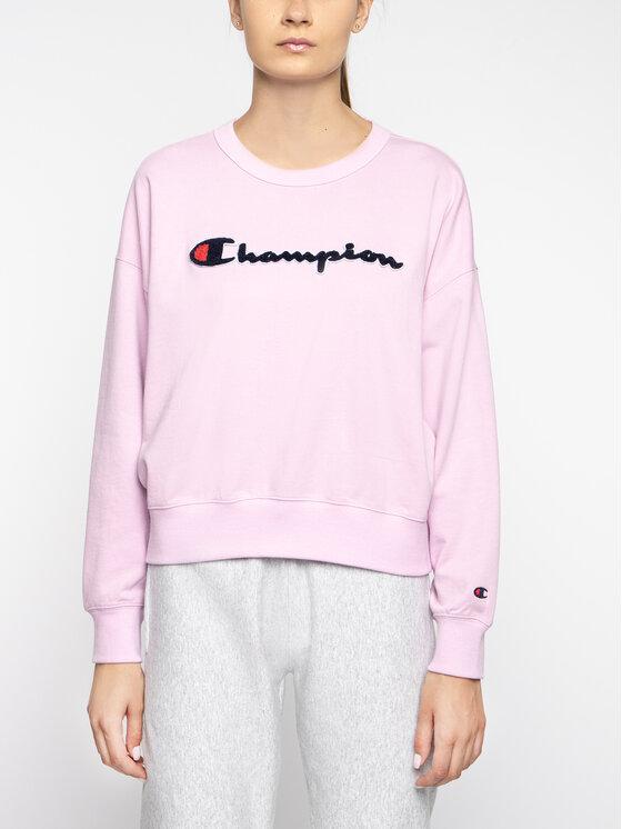 Champion Champion Pulóver 111384 Rózsaszín Oversize