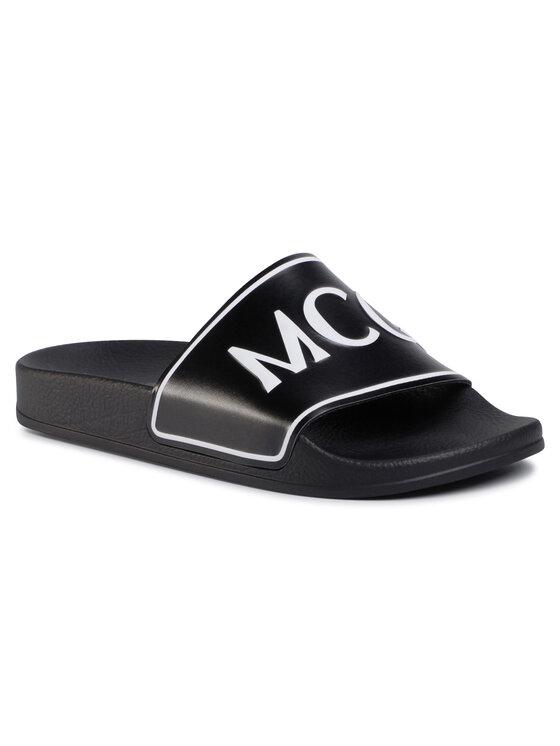 MCQ Alexander McQueen Šlepetės Infinity Slide 600567 R2668 1070 Juoda