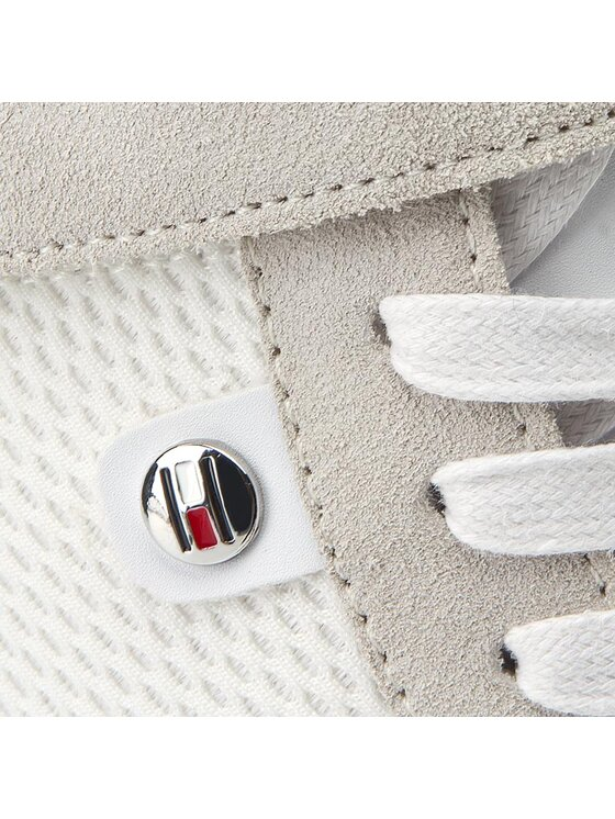 TOMMY HILFIGER TOMMY HILFIGER Sneakers Running Wedge 1C3 FW0FW00874 Bianco