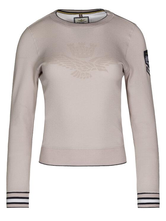 Aeronautica Militare Aeronautica Militare Sweatshirt 191FE1358DF319 Rose Regular Fit