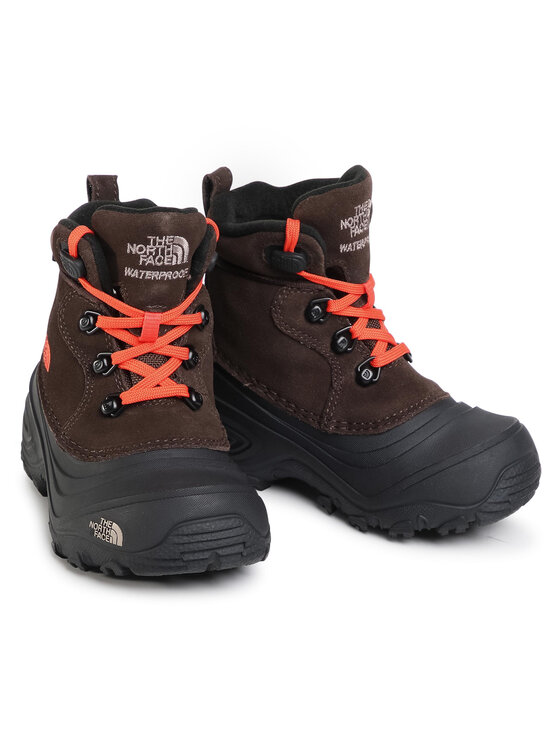 The North Face The North Face Śniegowce Youth Chilkat Lace II NF0A2T5RV6M Brązowy