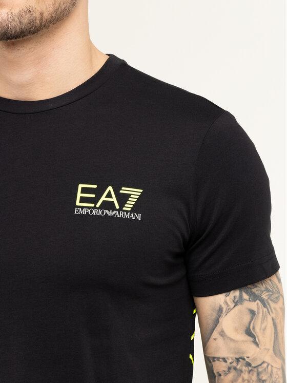EA7 Emporio Armani EA7 Emporio Armani T-shirt 3HPT12 PJ02Z 1200 Nero Regular Fit