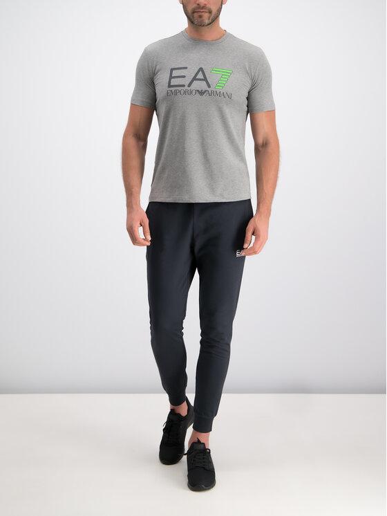 EA7 Emporio Armani EA7 Emporio Armani Tričko 3GPT01 PJ03Z 3905 Sivá Regular Fit