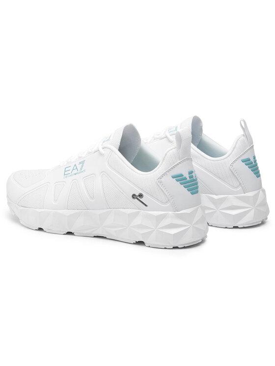 EA7 Emporio Armani EA7 Emporio Armani Sneakersy X8X034 XK061 A273 Biela