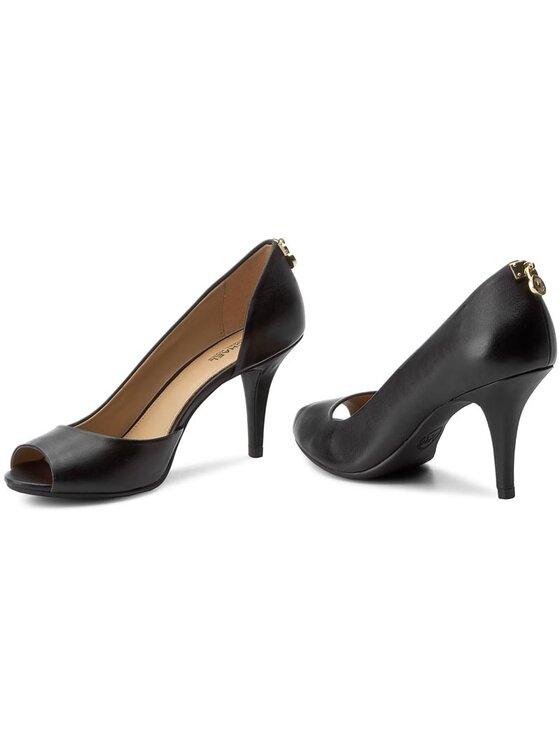 MICHAEL Michael Kors MICHAEL Michael Kors Κλειστά παπούτσια Hamilton Open Toe Flex 40S6HAMP2L Μαύρο