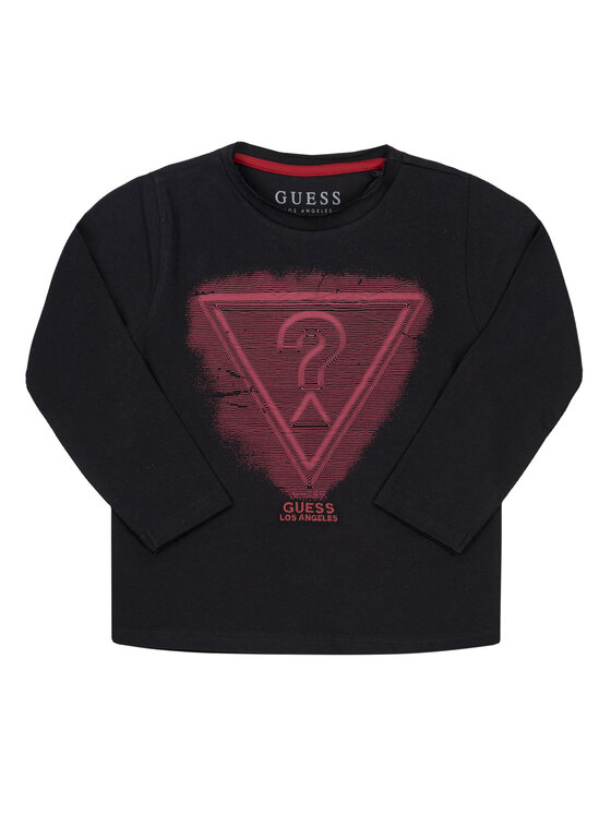 Guess Guess Blúz N93I34 K82E0 Fekete Regular Fit