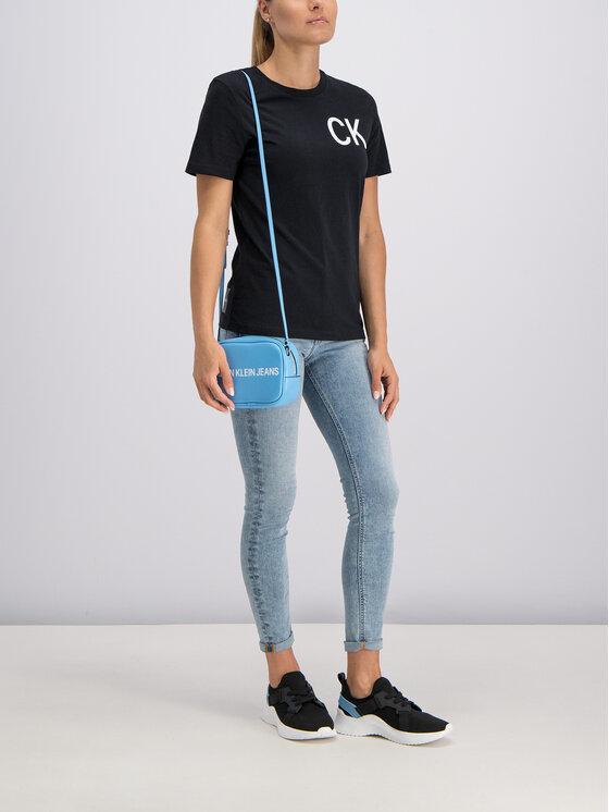Calvin Klein Jeans Calvin Klein Jeans Tričko J20J211806 Čierna Regular Fit