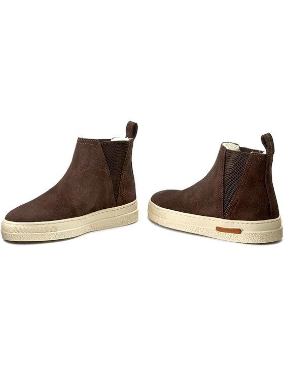 Gant Gant Členková obuv s elastickým prvkom Maria 13543323 Hnedá