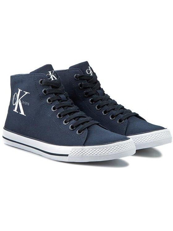 Calvin Klein Jeans Calvin Klein Jeans Sneakers aus Stoff Ozzy SE8534 Dunkelblau