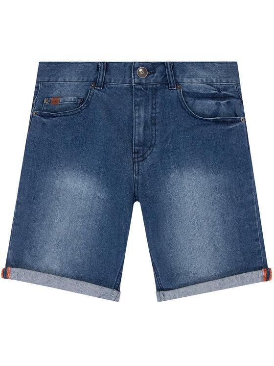 Timberland Timberland Szorty jeansowe T24A98 D Granatowy Regular Fit