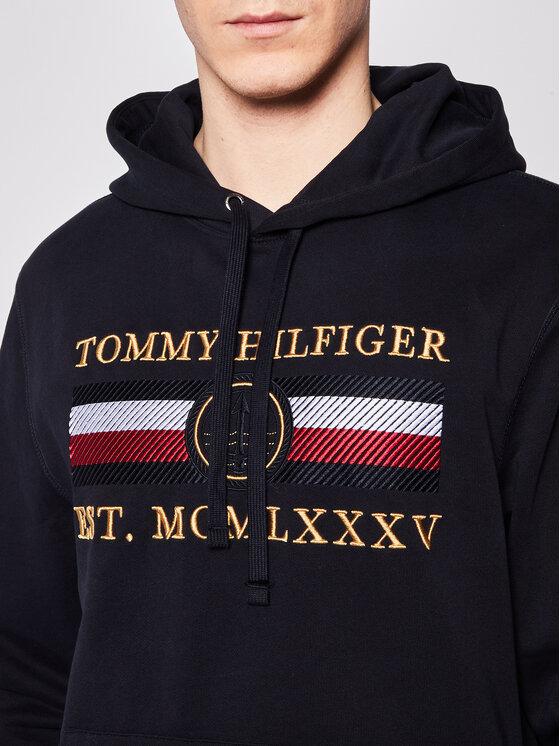 TOMMY HILFIGER TOMMY HILFIGER Džemperis Icon MW0MW13052 Tamsiai mėlyna Regular Fit