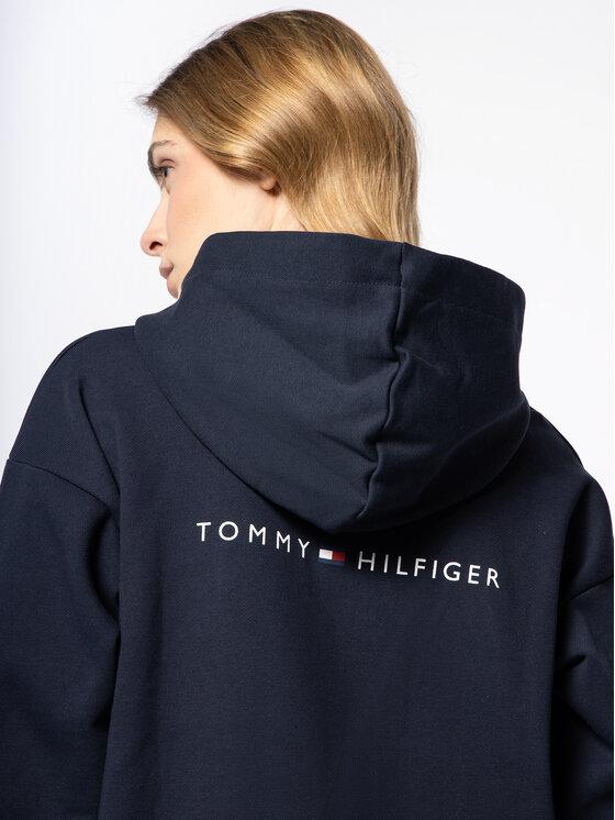 Tommy Hilfiger Tommy Hilfiger Mikina Raven WW0WW26677 Tmavomodrá Regular Fit