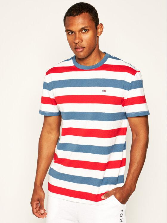 Tommy Jeans Tommy Jeans T-Shirt Tjm Seasonal Stripe DM0DM07834 Μπλε Regular Fit
