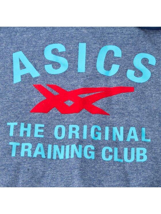 Asics Asics Férfi pulóver Graphic Hoodie 123094 XL Kék Regular Fit