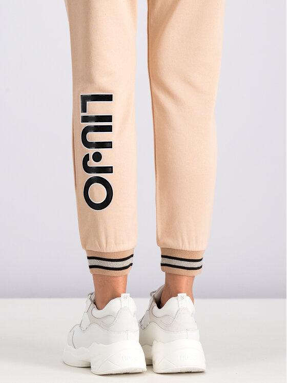 Liu Jo Sport Liu Jo Sport Teplákové kalhoty T19035 F0770 Béžová Regular Fit