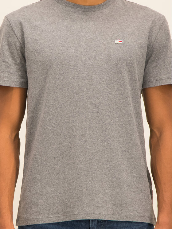 Tommy Jeans Tommy Jeans T-shirt Tjm Tommy Classics Tee DM0DM06061 Gris Regular Fit