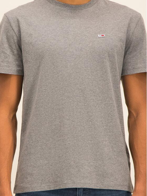 Tommy Jeans Tommy Jeans T-Shirt Tjm Tommy Classics Tee DM0DM06061 Šedá Regular Fit