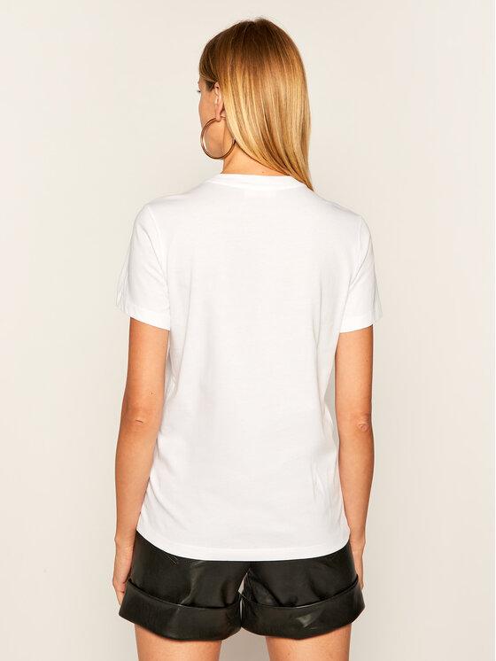 Diesel Diesel T-Shirt T-Sily-E62 A00255 0HERA Biały Regular Fit