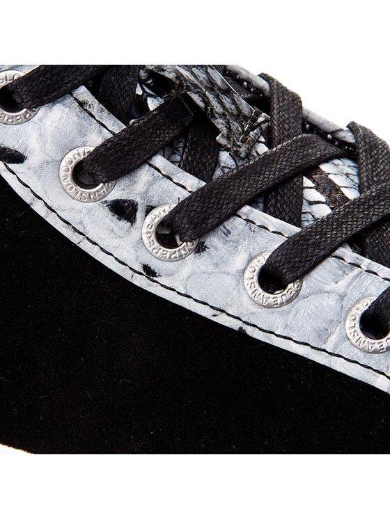Pepe Jeans Pepe Jeans Sportcipő Clinton Cow Snake PLS30189 Fekete