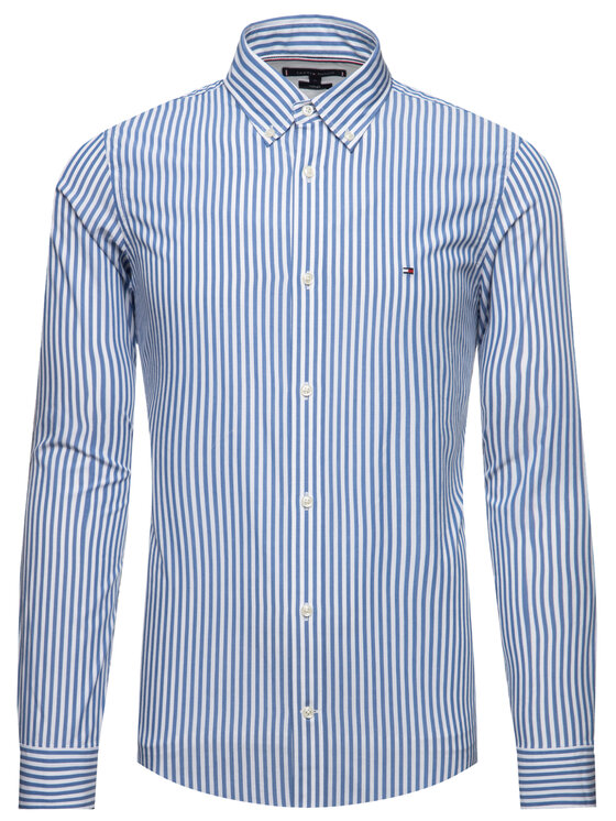 TOMMY HILFIGER TOMMY HILFIGER Camicia Hyper Classic Stripe MW0MW12209 Multicolore Slim Fit