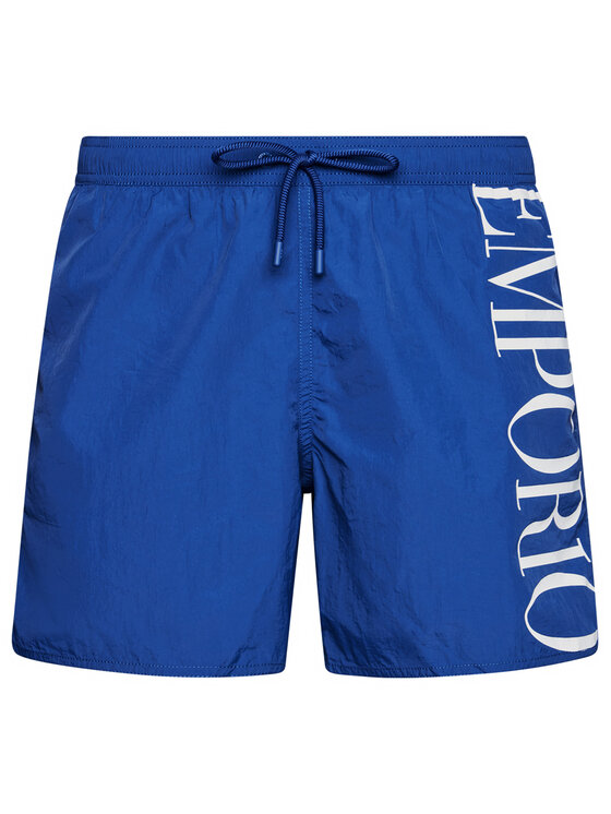 Emporio Armani Emporio Armani Szorty kąpielowe 211740 1P414 23033 211740 1P414 23033 Niebieski Regular Fit