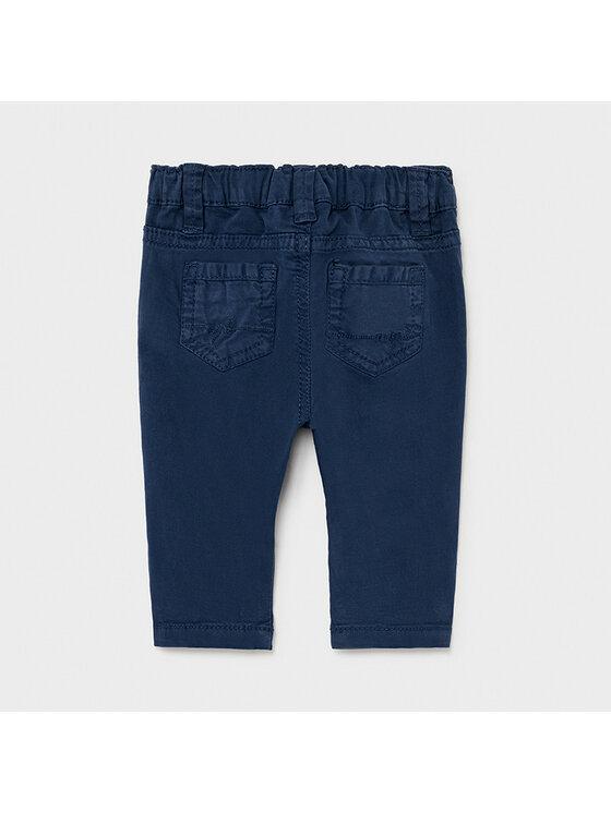 Mayoral Mayoral Spodnie materiałowe 595 Granatowy Regular Fit
