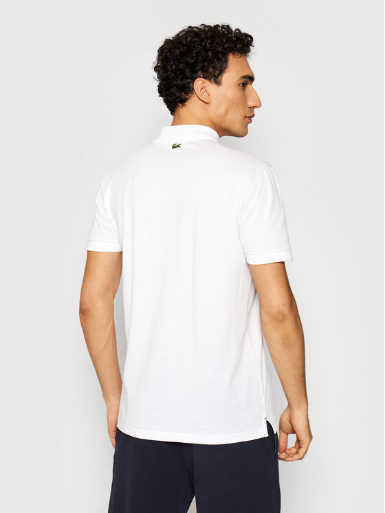 Lacoste Lacoste Polo YH0028 Biały Regular Fit