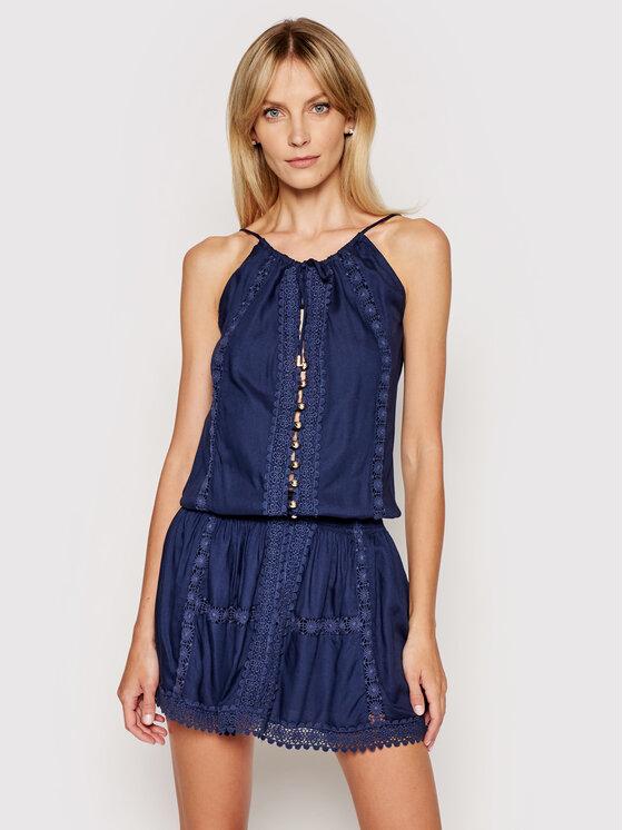 Melissa Odabash Vasarinė suknelė Chelsea CR Tamsiai mėlyna Regular Fit