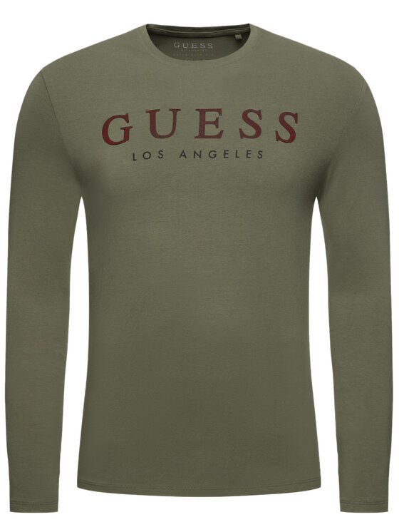 Guess Guess Halat M94I40 J1300 Verde Super Slim Fit