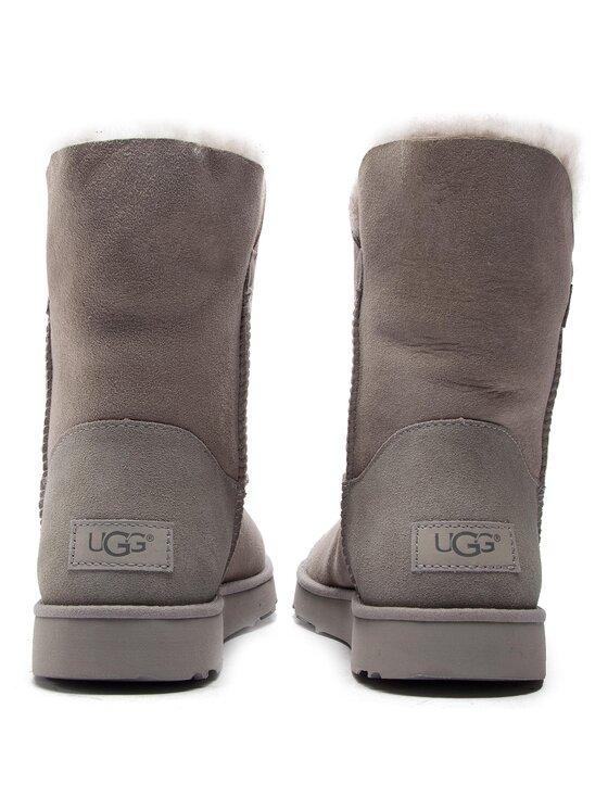 Ugg Ugg Обувки W Classic Cuff Short 1016418 Сив