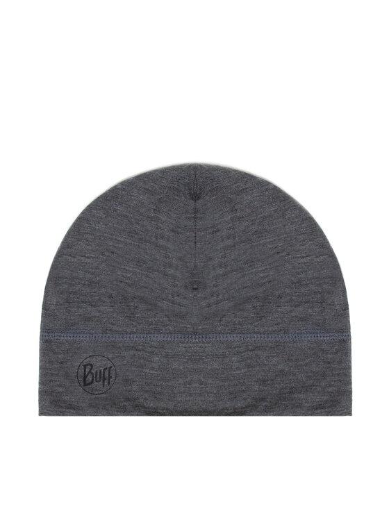 Buff Buff Czapka Lightweight Merino Wool Hat Solid 113013.937.10.00 Szary