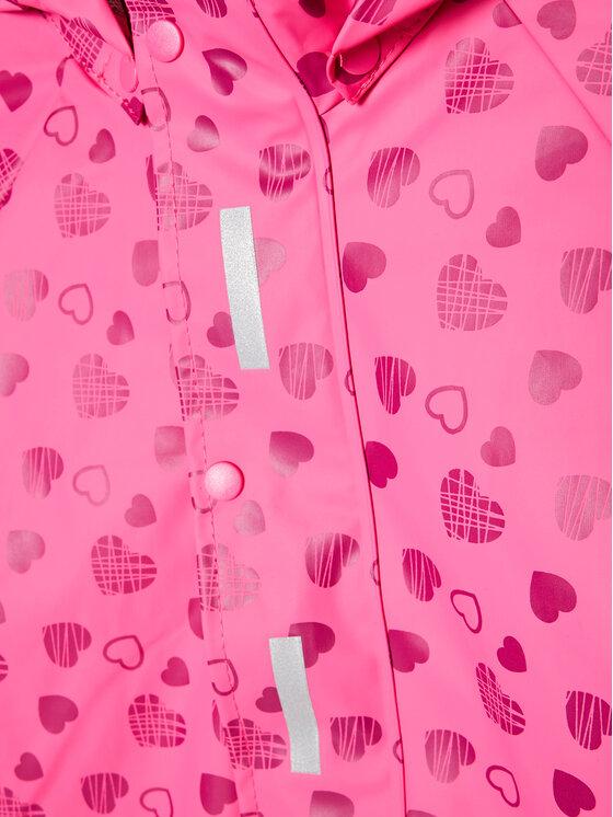 Playshoes Playshoes Kurtka przeciwdeszczowa 408531 D Różowy Regular Fit