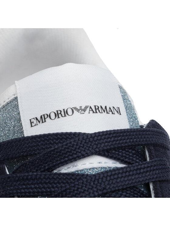 Emporio Armani Emporio Armani Sneakersy X3X058 XM262 R724 Granatowy