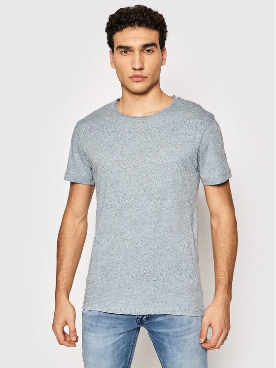 Jack&Jones PREMIUM Marškinėliai Bluvance 12185027 Mėlyna Regular Fit
