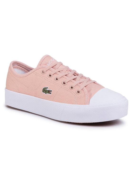Lacoste Lacoste Tornacipő Ziane Plus Grand 120 2 Cfa 7-39CFA00217F8 Rózsaszín