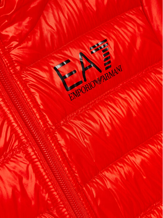 EA7 Emporio Armani EA7 Emporio Armani Kurtka puchowa 8NBB34 BN29Z 1485 Czerwony Regular Fit