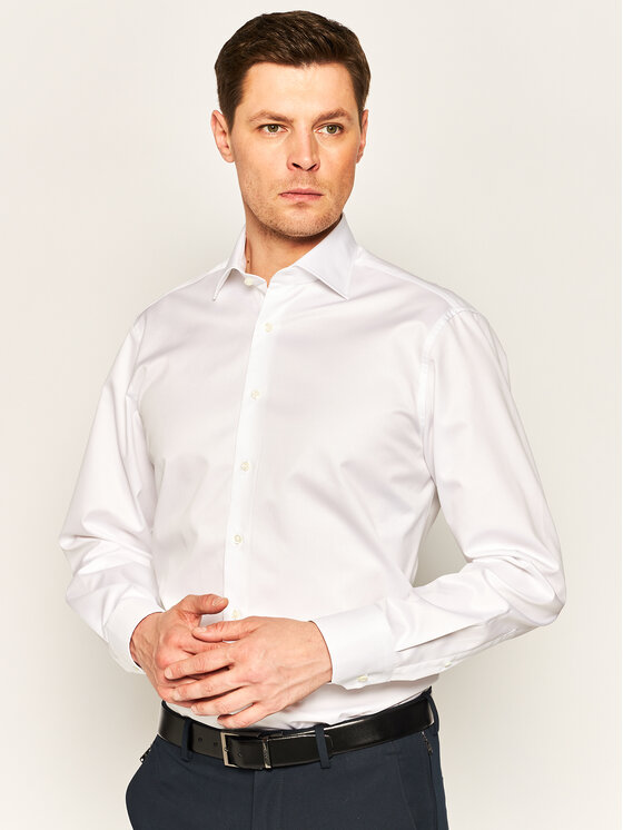 Stenströms Marškiniai 602771 1467 Balta Slim Fit