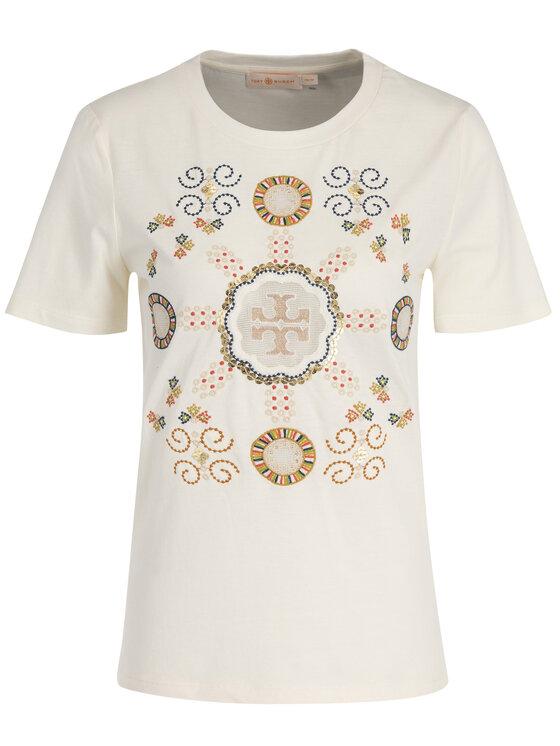 Tory Burch Tory Burch T-Shirt 56528 Μπεζ Regular Fit