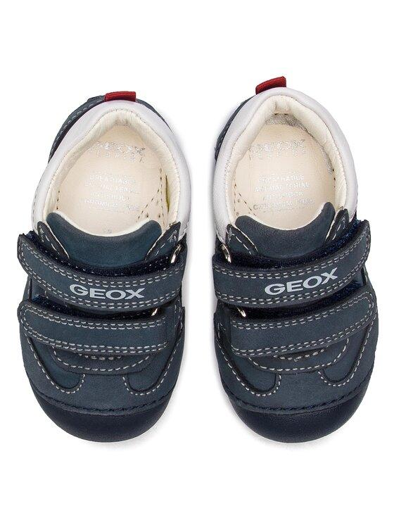 Geox Geox Κλειστά παπούτσια B Tutim B. A B4239A 03285 C4211 M Σκούρο μπλε