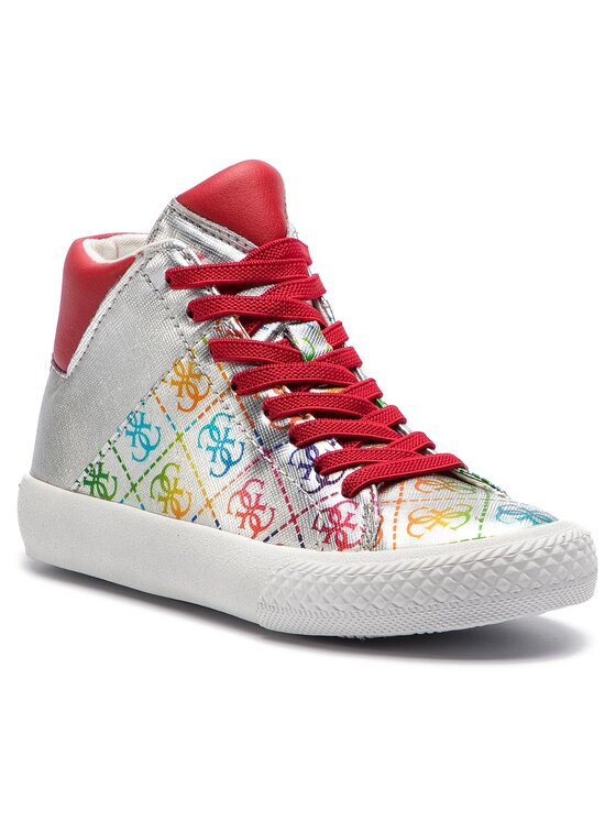 Guess Guess Sneakers Marty FI5MAR FAL12 Silberfarben