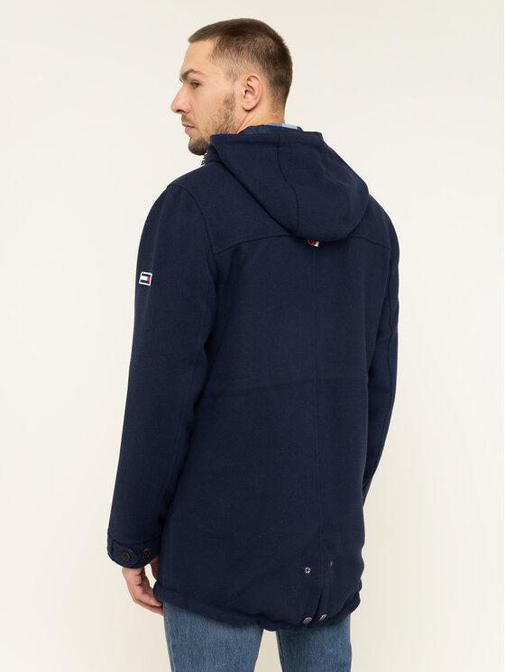 Tommy Jeans Tommy Jeans Parka Tjm Wool DM0DM06913 Bleu marine Regular Fit