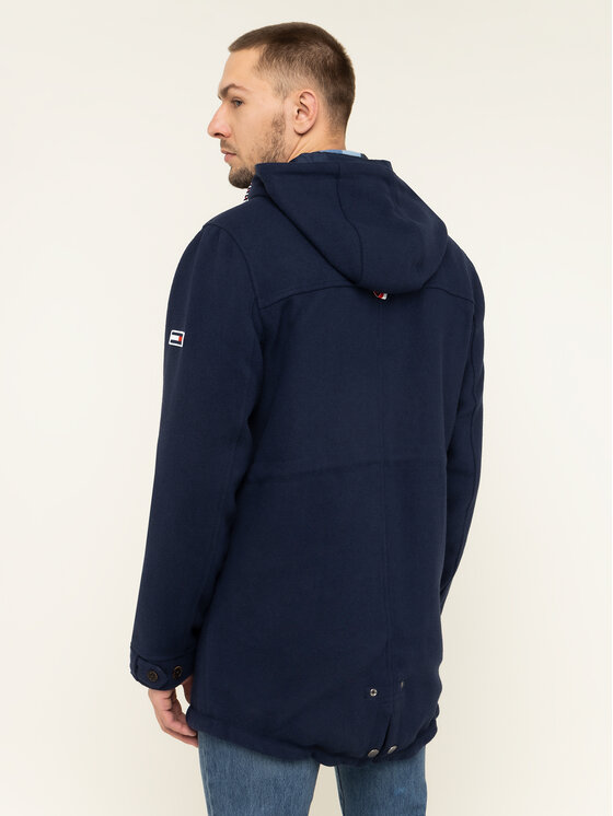 Tommy Jeans Tommy Jeans Striukė Tjm Wool DM0DM06913 Tamsiai mėlyna Regular Fit